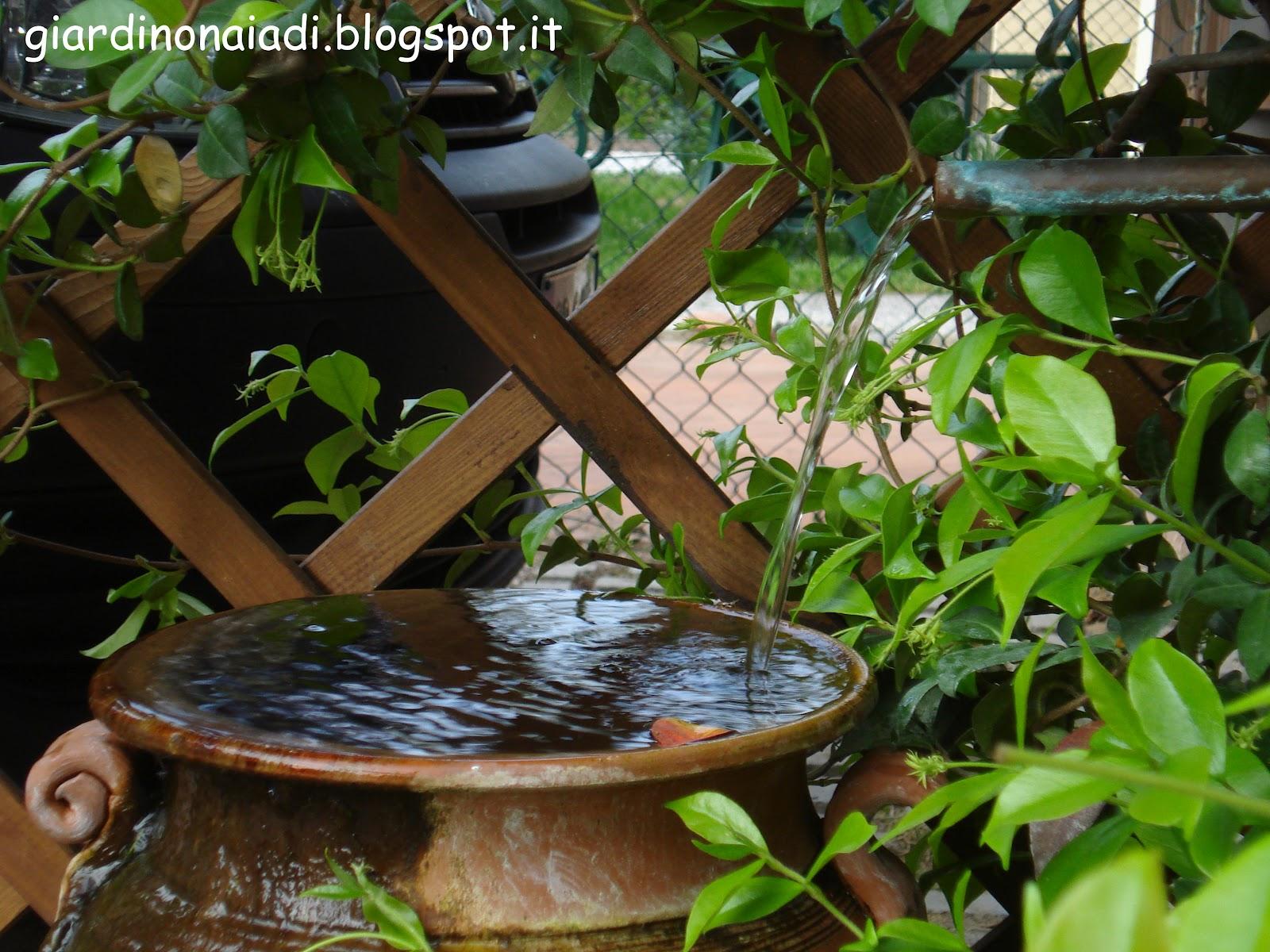 Il giardino delle naiadi giocare con l 39 acqua for Vasche pesci da giardino
