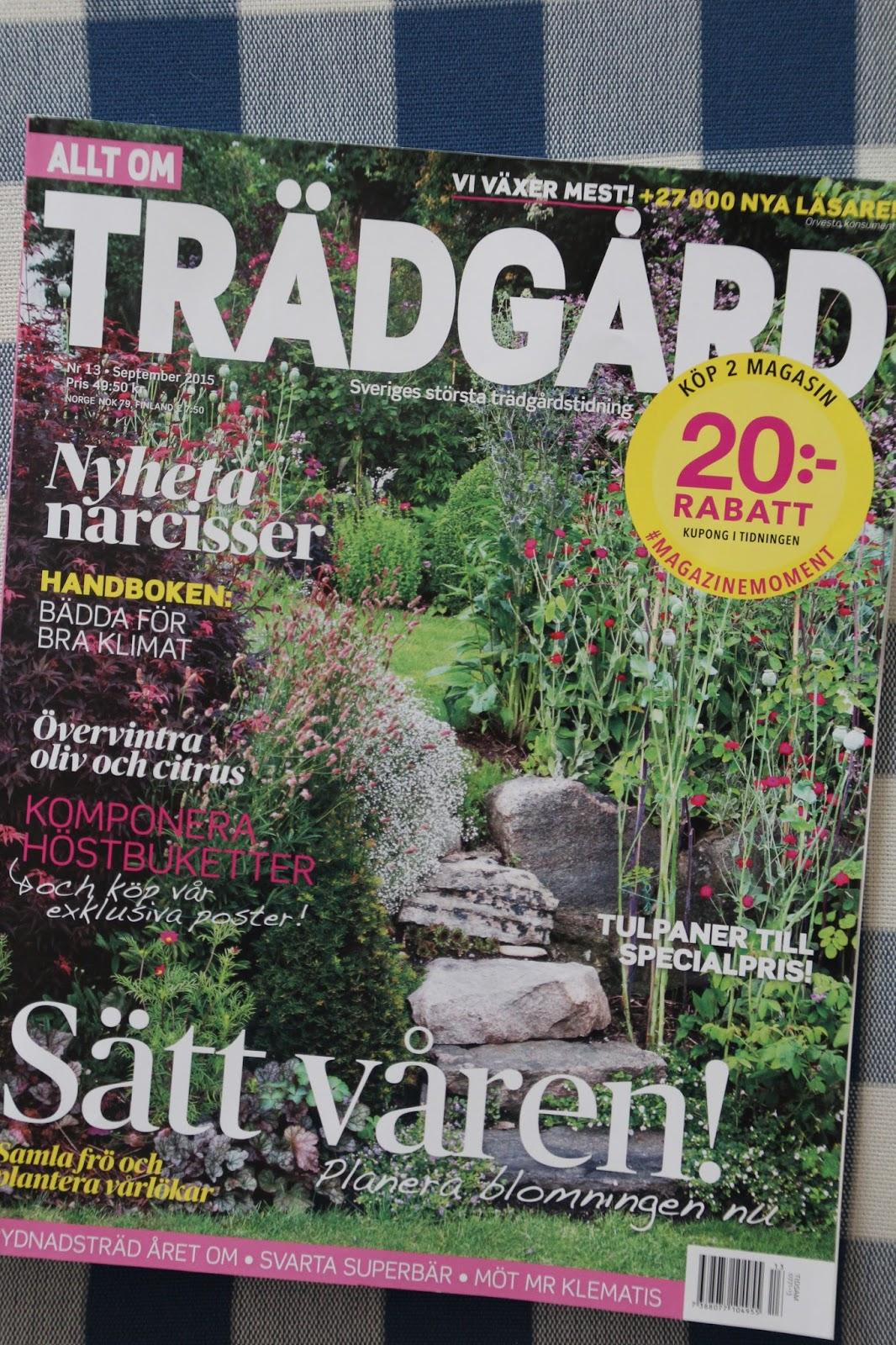 Allt om Trädgård reportage