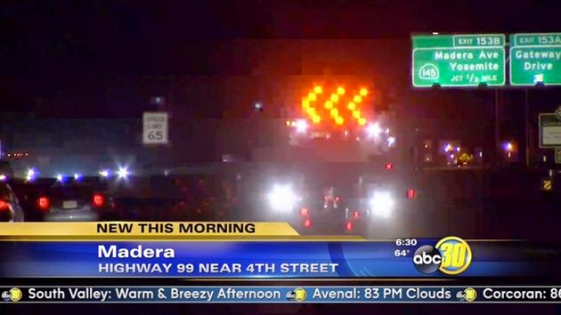 madera car crash highway 99 dui drunk driver construction workers