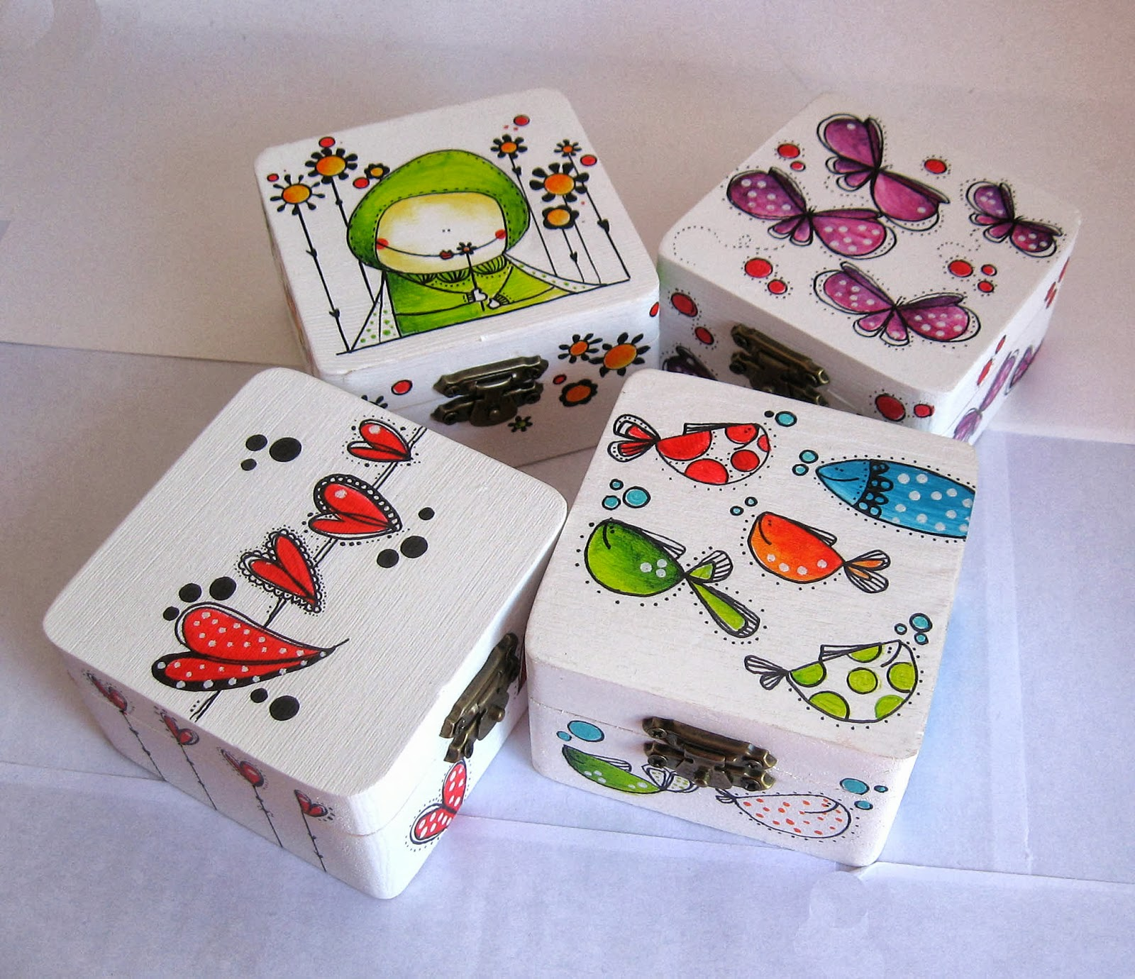 1000 images about cajas de madera pintadas mano on pinterest for Pintura para decoupage