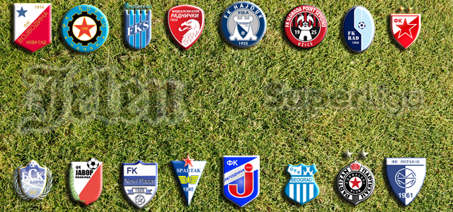 superliga serbien