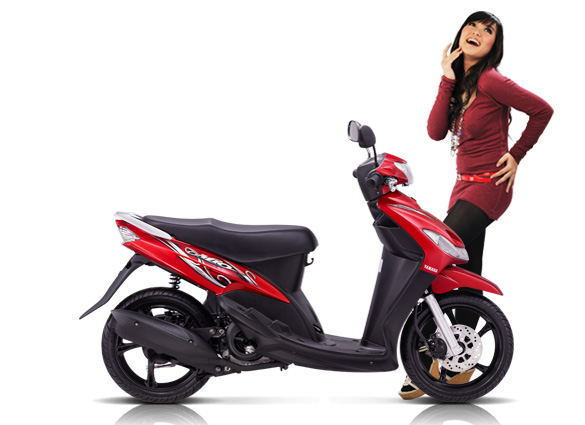 modifikasi motor mio cw 2011  tahun ini