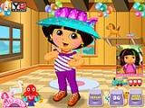Permainan Dora Berpakaian TK