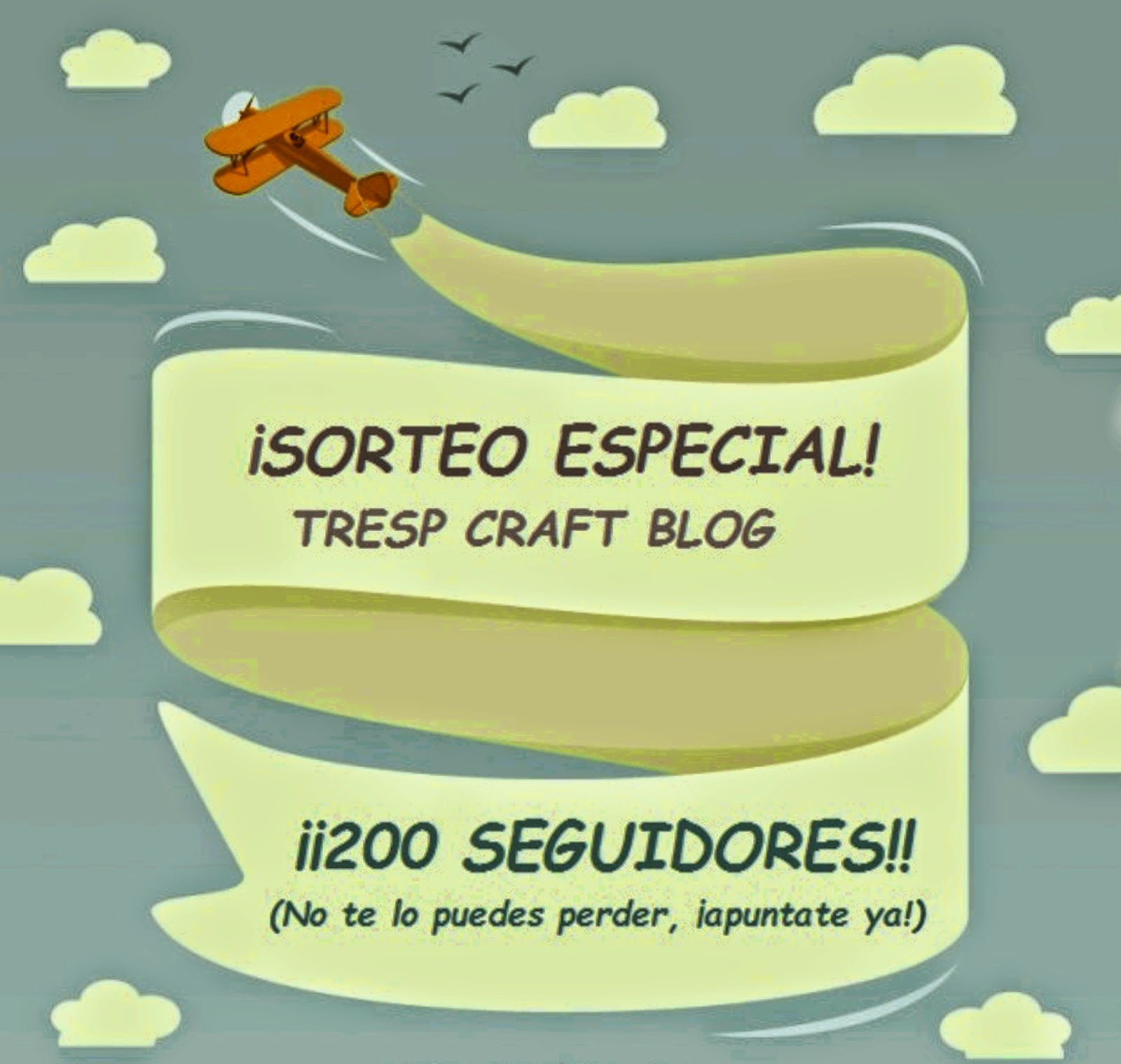 SORTEO EN TRESP CRAFT