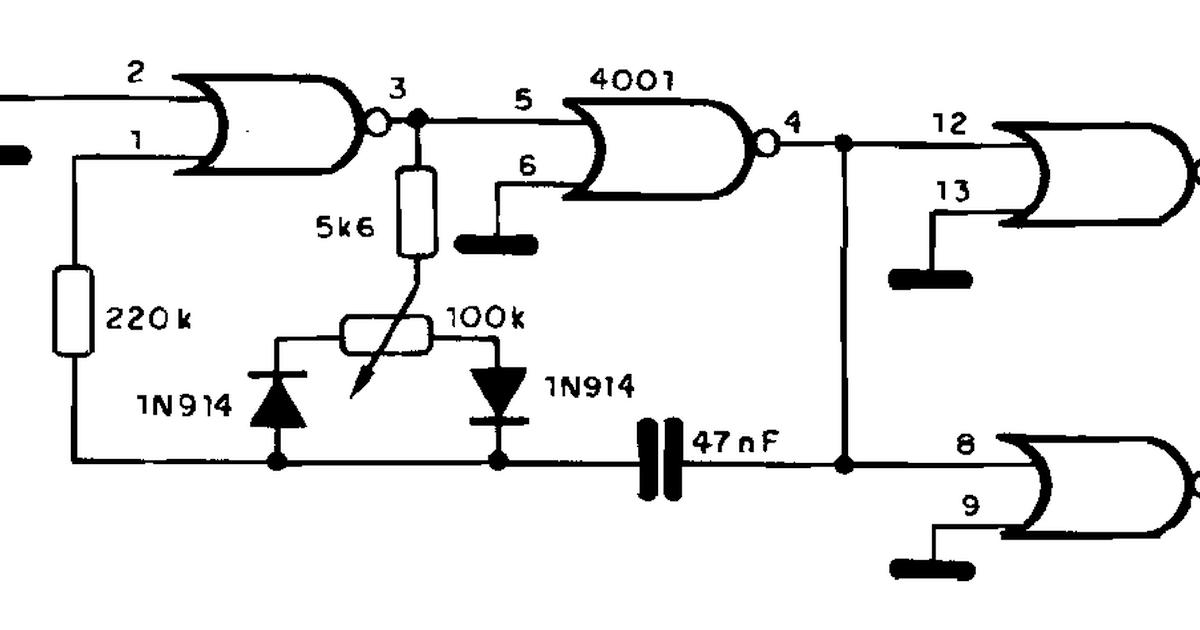 Circuito Oscilador : EletrÔnica geral oscilador com circuito integrado
