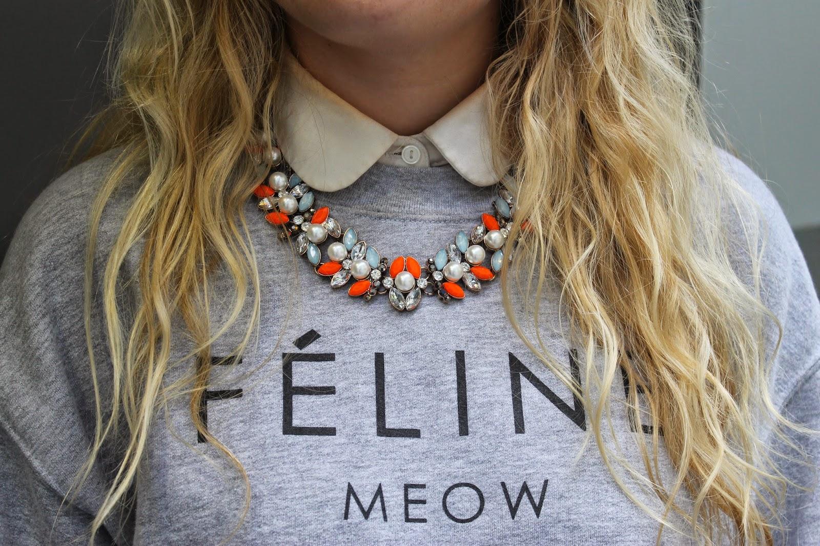 Feline Meow Sweater