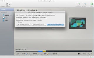 BlackBerry Desktop Manager Updated v2.3.1.5 for Mac