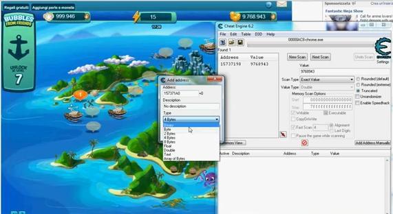 Free Buble Safari Ocean Hack Tool 2012 - Cheat engine 6.2