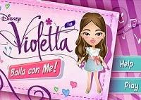 Baila al ritmo de la música con Violetta