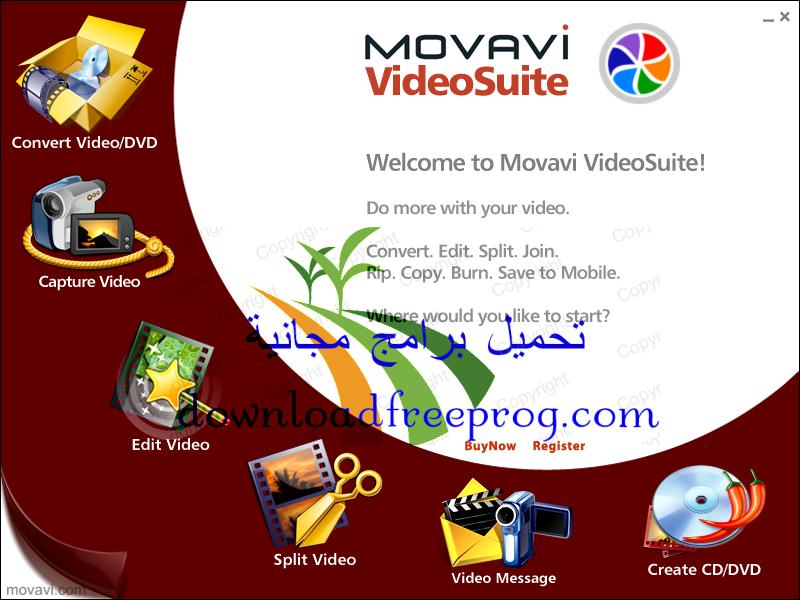 تحميل برنامج Movavi Video Converter 15.0.0 لتحويل الفيديو