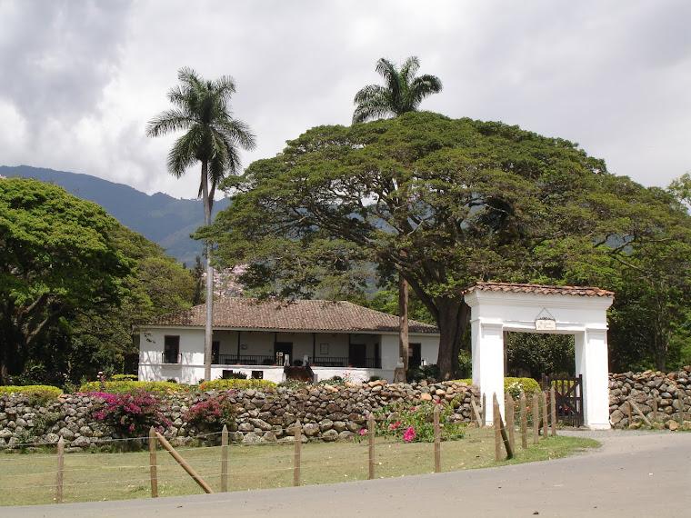 Casa Museo Hacienda El Paraiso - El Cerrito, Valle - Colombia. Foto tomada de internet.