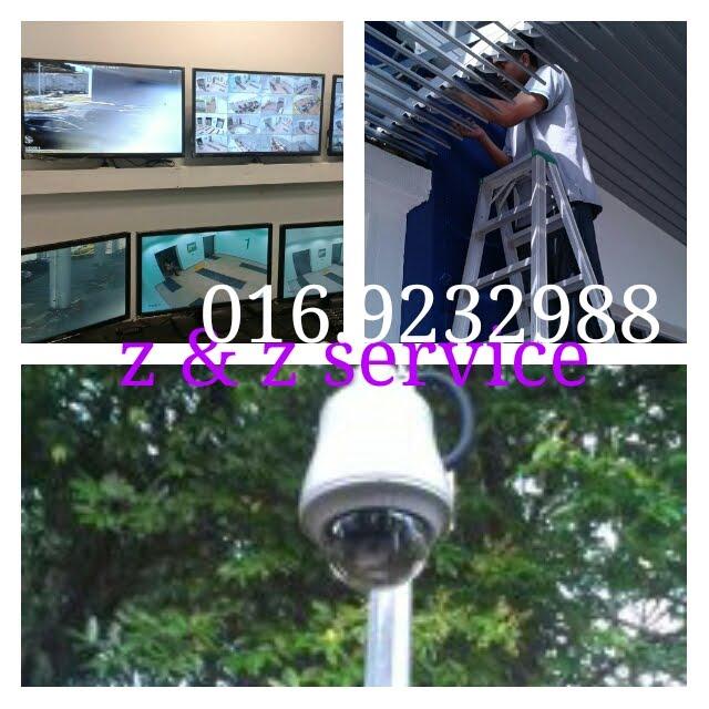 Pemasangan CCTV & Alarm System