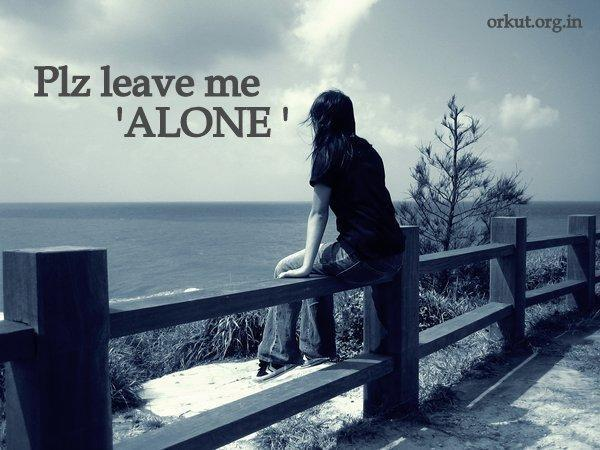 i am Alone Quotes For Facebook Alone in Rain With Quotes