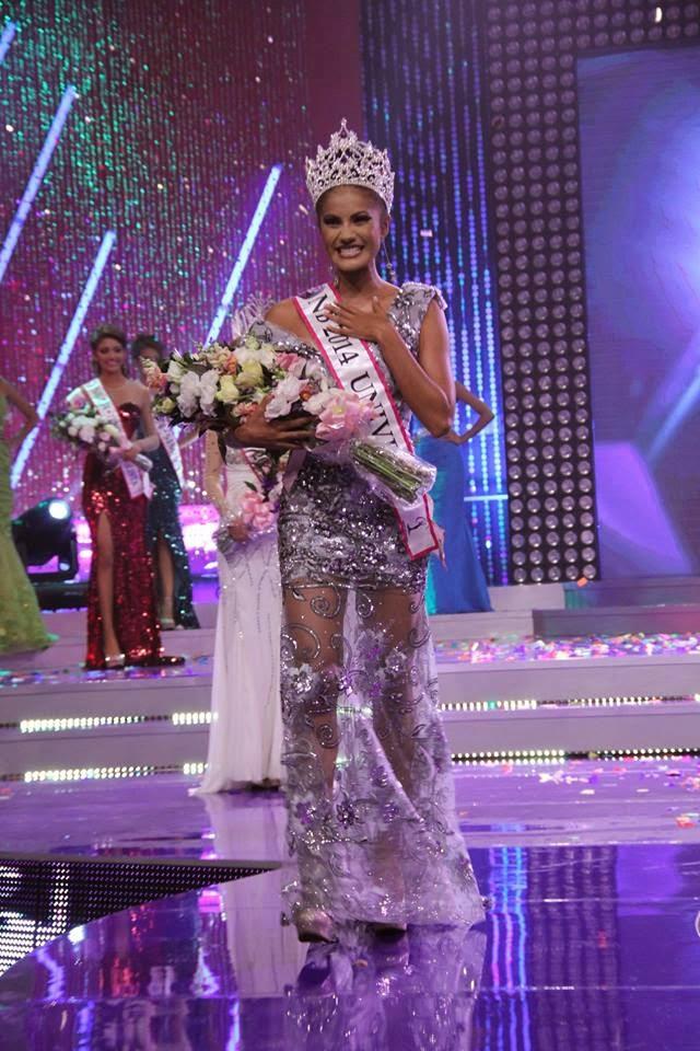 Claudia Murillo Ramos wins Nuestra Belleza El Salvador 2014
