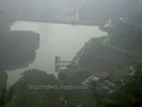 Konkankada spot of Bhandardara dam near Pune in India