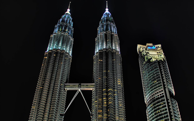 Petronas Towers, Kuala Lumpur Seen On www.coolpicturegallery.us