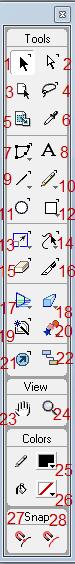 Tutorial Freehand MX : Fungsi Tool (1)