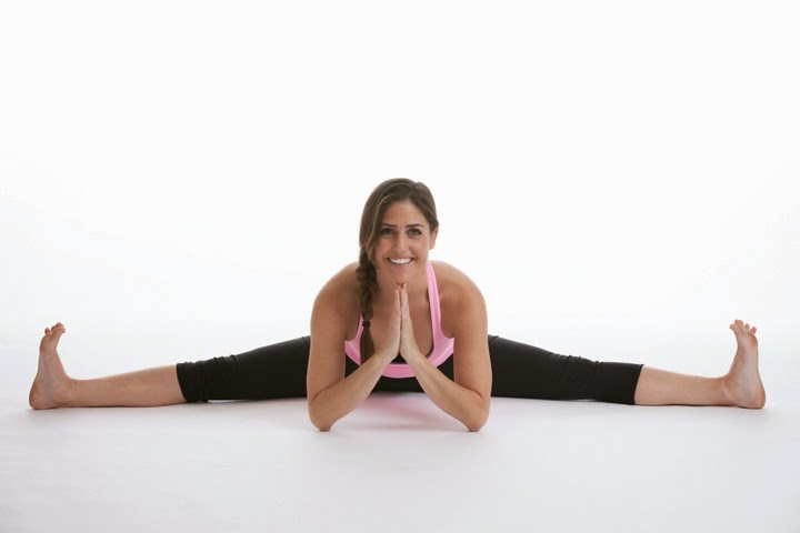 Wide-Angle Seated Forward Bend
