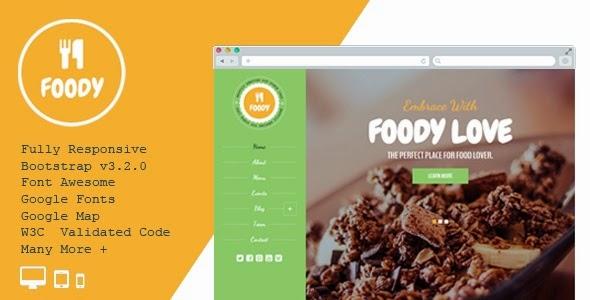 download Foody – Responsive Restaurant HTML5 Template
