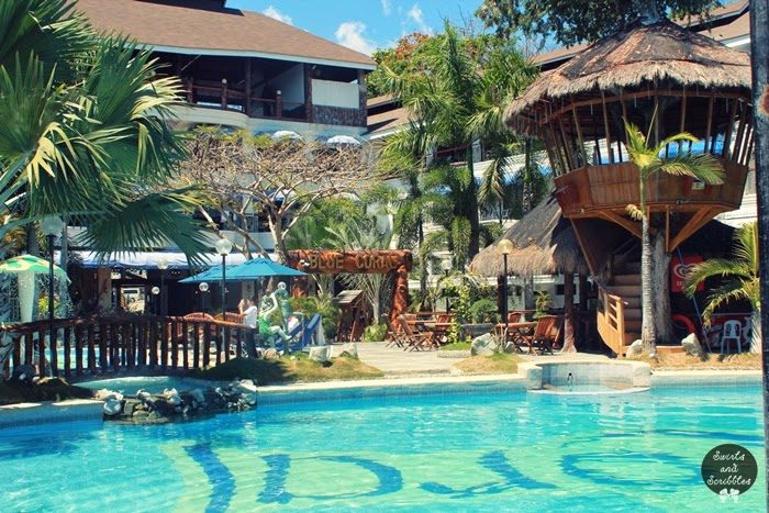 Review blue coral beach resort laiya batangas swirls and scribbles a food travel for Batangas beach and swimming pool resort