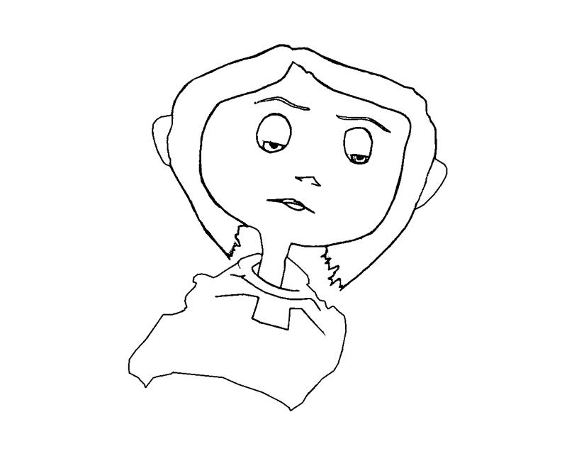 free coraline coloring pages - photo#24