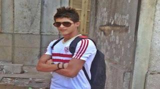 أحمد الشيخ لاعب نادي مصر المقاصة