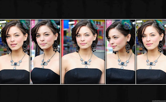 Kristin Kreuk Hollywood American Actress Wallpaper