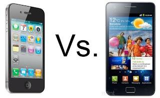 ประชัน iPhone 4 ปะทะ Samsung Galaxy S II