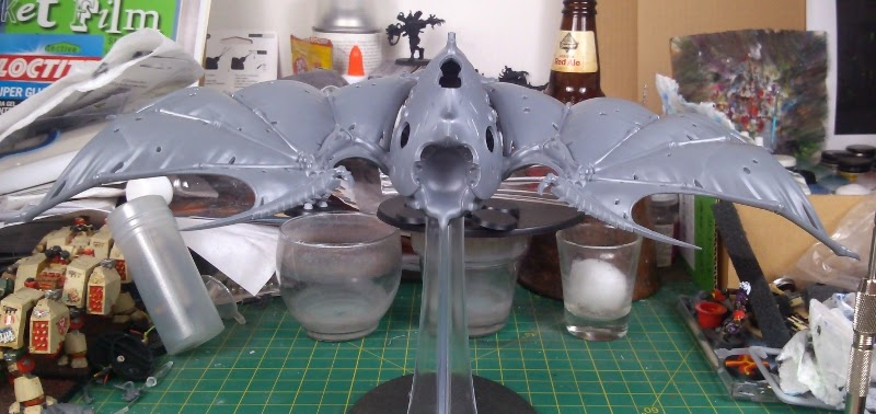 How to Lose at 40k*'**/WIP'R'Us: How to Magnetize Hive Crone Wings