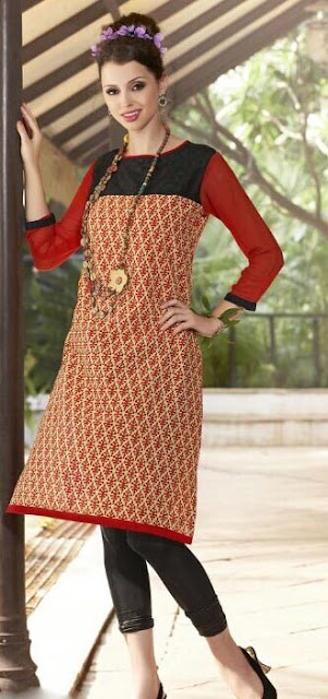 Designer Kurtis From Moksha Fashions