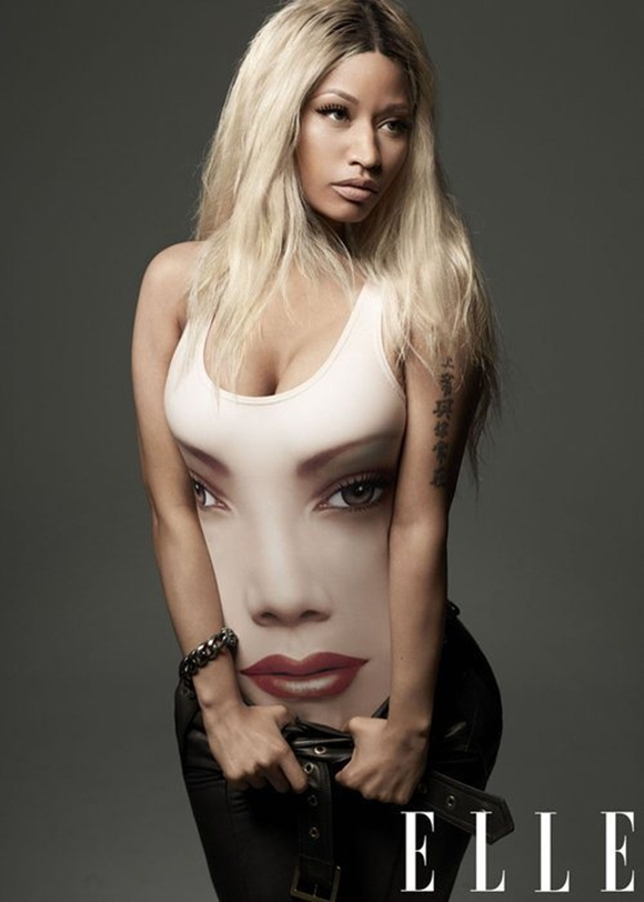 Fotos de Nicki Minaj na revista Elle de abril de 2013