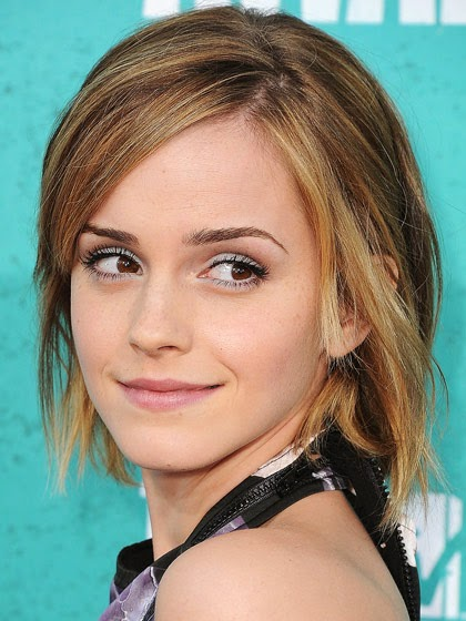 brunettes emma watson beachy brown