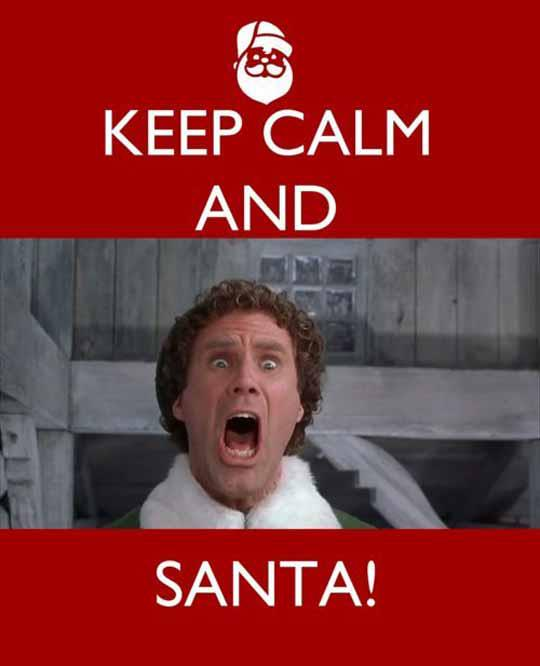 SANTA'S COMING (in less than three months)