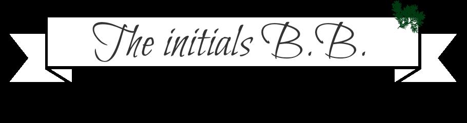 The initials B.B.