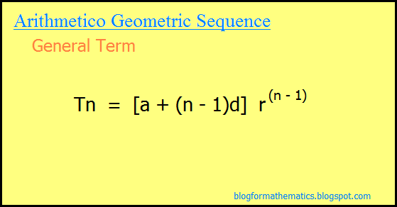 how to find genereal term for sequence