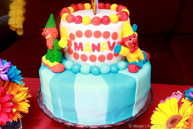 Images Of Birthday Cakes With Name Manju : Manju s Eating Delights: A Rainbow Birthday Party...Manav ...