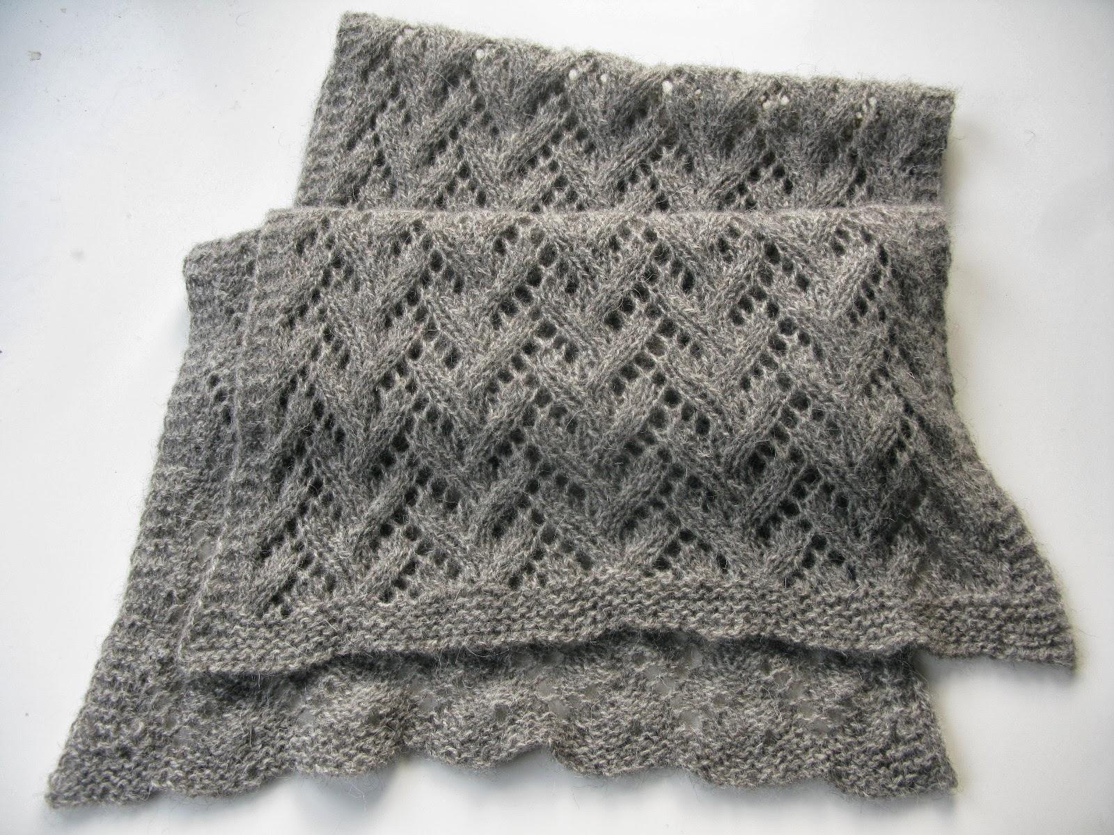 littletheorem: Felted Lace Wrap Pattern