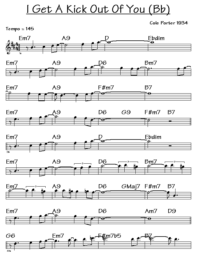 Lyric cole porter lyrics : Jazz And Blues Play Alongs: