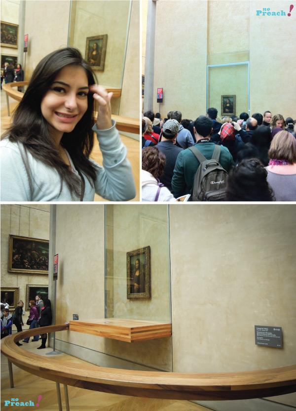 La Gioconda - Monalisa - Leonardo da Vinci - Museu do Louvre- Paris - França
