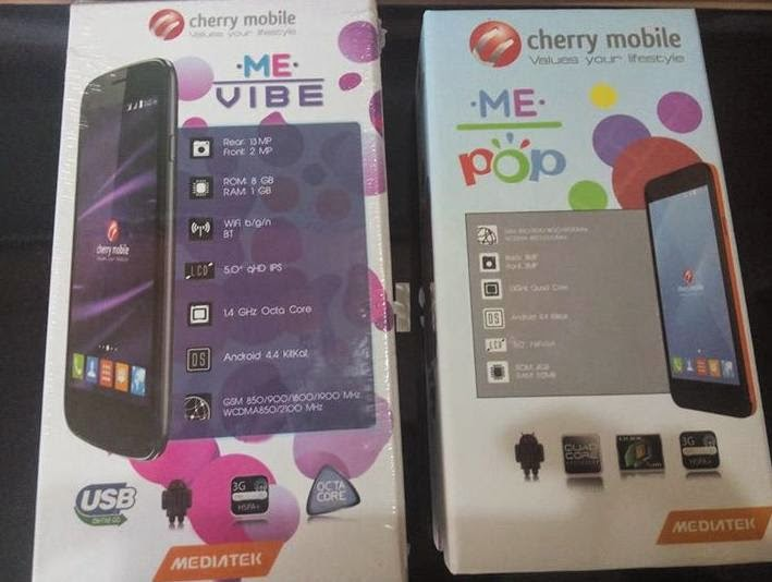 Cherry Mobile ME Pop, 5-inch Quad Core with Customizable Back Cover For Php3,299
