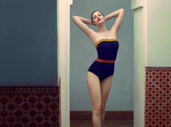 beau maillot de bain Eres haute coutre luxe style lingerie pour toute morphologie
