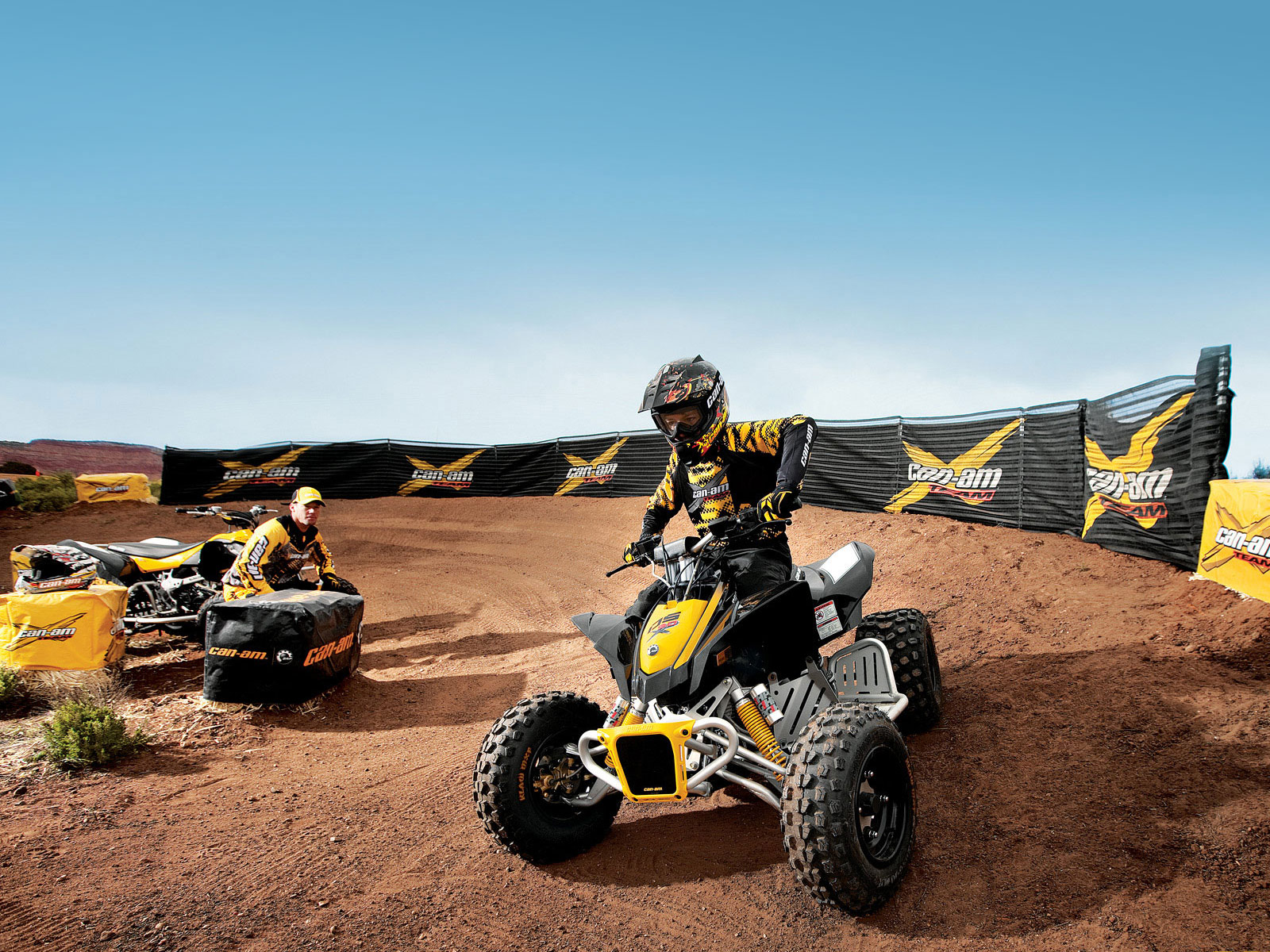 2012 Can-Am DS 90X ATV pictures 1
