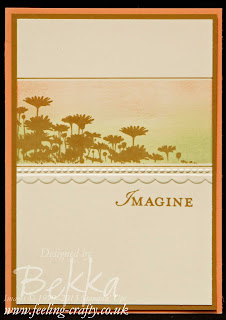 Best of Flowers Imagine Card by UK based Stampin' Up! Demonstrator Bekka Prideaux