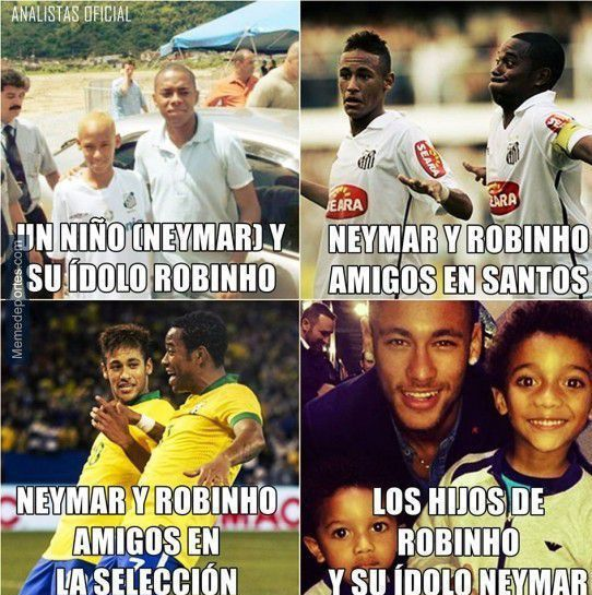 neymar robinho football