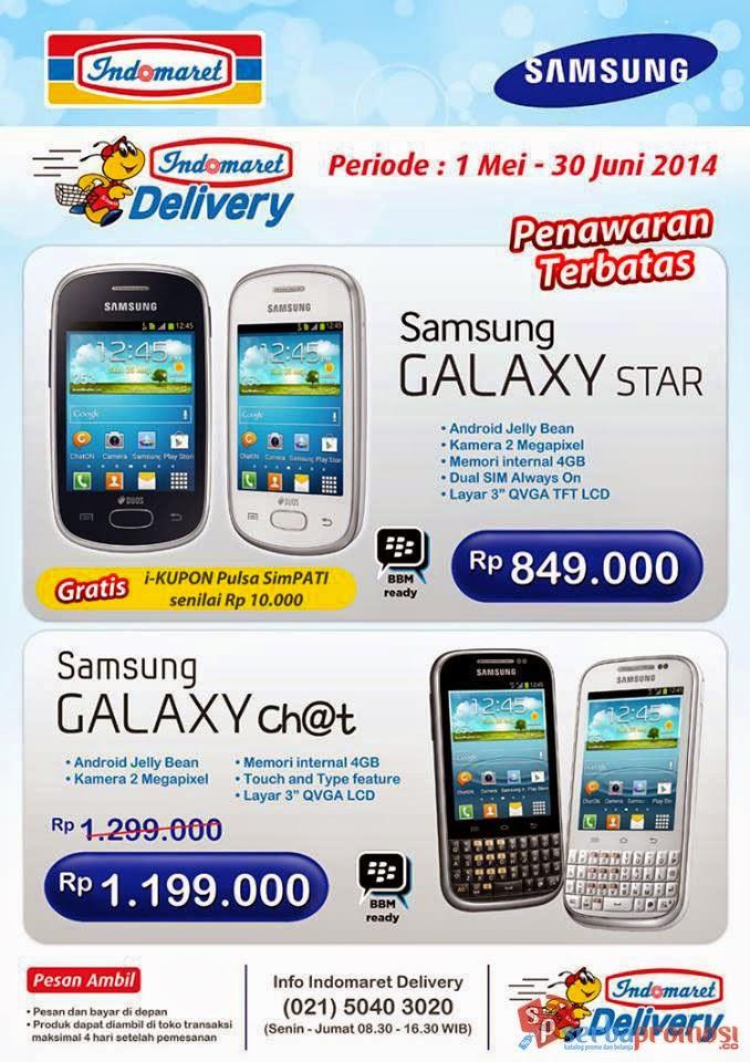 Harga Samsung Galaxy Star di Indomaret