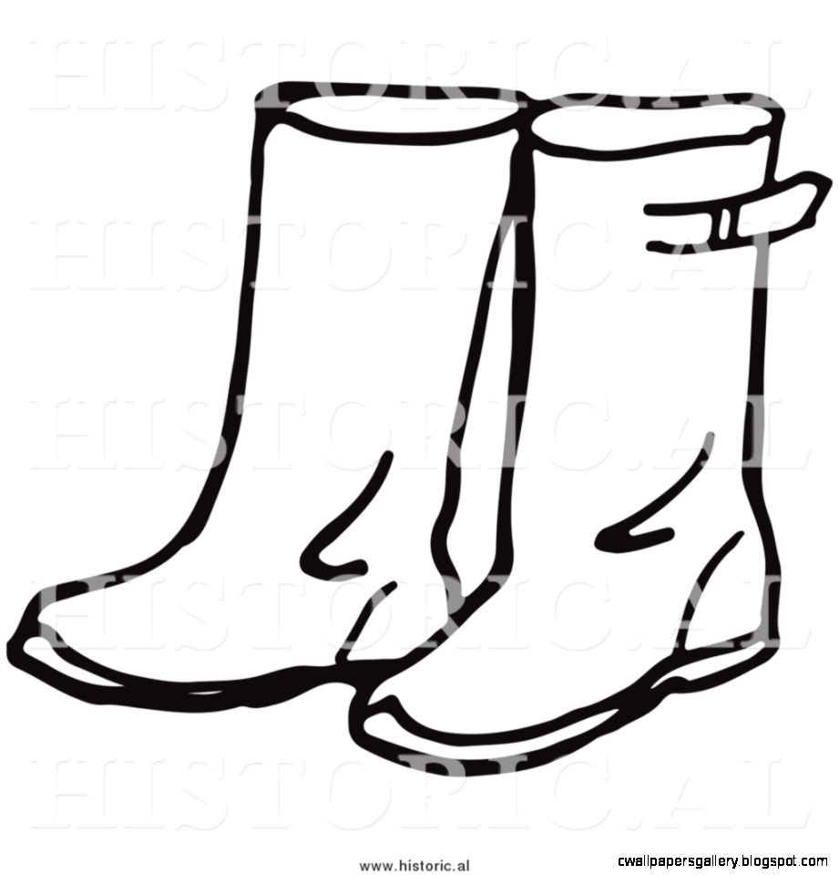 Rain Boots Coloring Page 67493 | BLOGHD