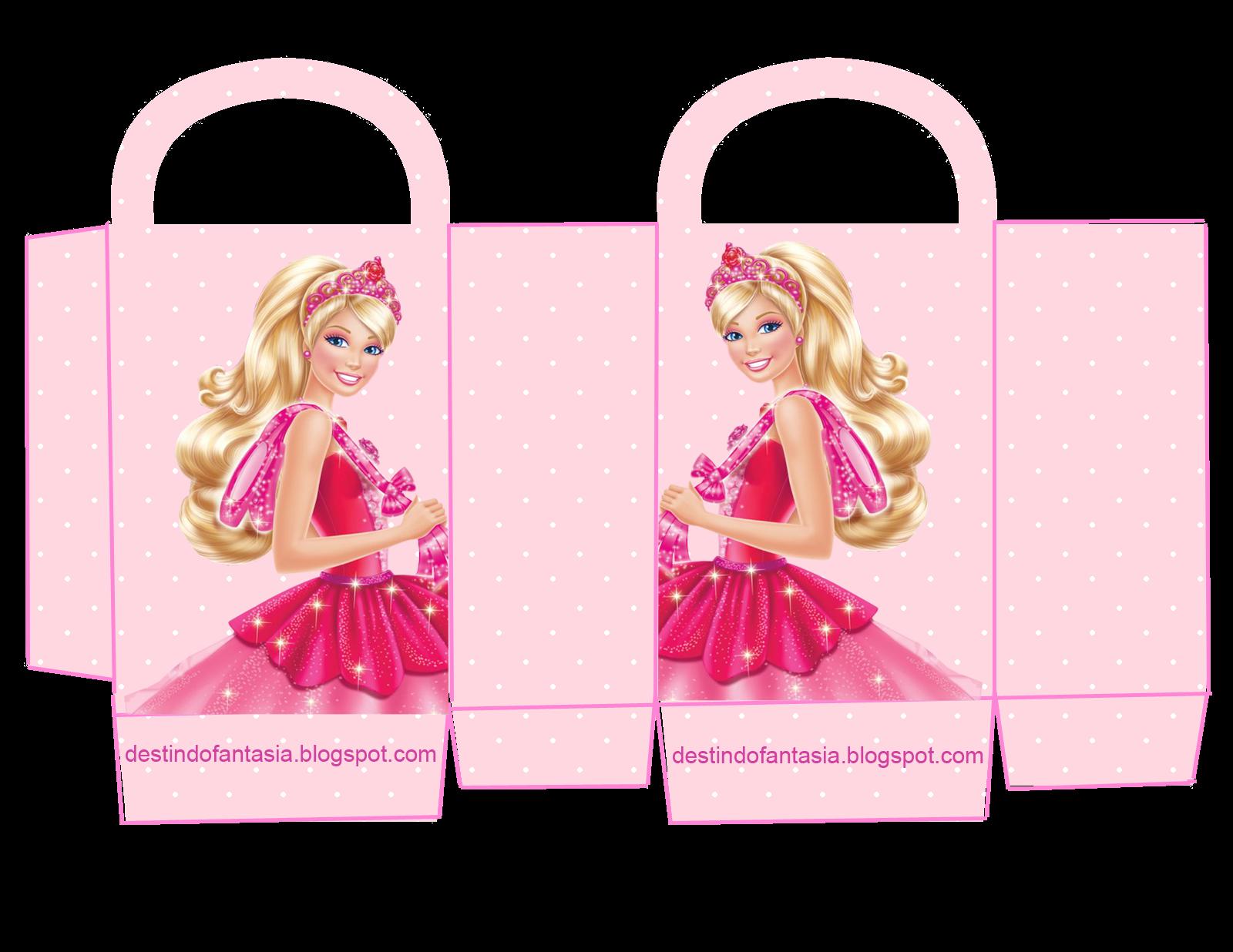 sacolinha festa barbie