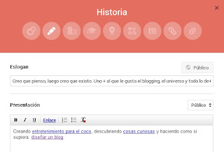 Perfil Google Plus: Historia