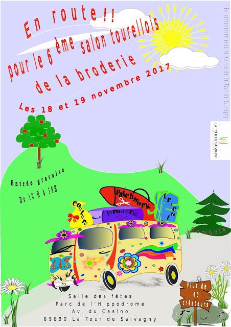 Salon des créateurs à la Tour de Salvagny les 18 et 19 novembre