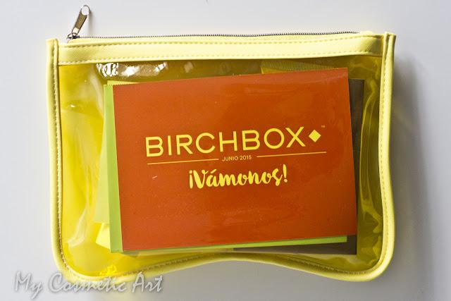 ¡Vámonos! La Birchbox de Junio de 2015